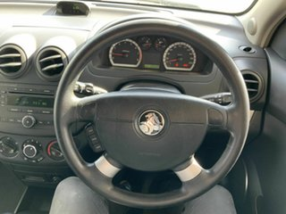 2010 Holden Barina TK MY10 Black 5 Speed Manual Hatchback