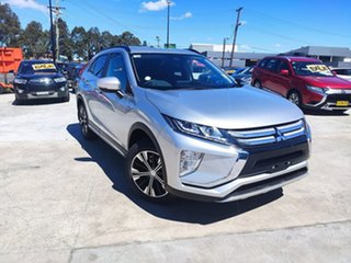 2020 Mitsubishi Eclipse Cross YA MY20 LS 2WD Silver 8 Speed Constant Variable Wagon.