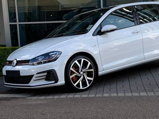 2020 Volkswagen Golf 7.5 MY20 GTI DSG White 7 Speed Sports Automatic Dual Clutch Hatchback.