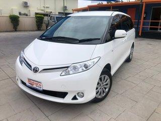 2015 Toyota Tarago ACR50R MY13 GLi White 7 Speed Constant Variable Wagon.