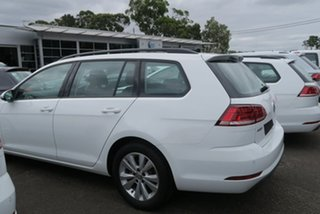 2020 Volkswagen Golf 7.5 MY20 110TSI DSG Trendline White 7 Speed Sports Automatic Dual Clutch Wagon.