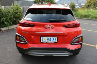 2019 Hyundai Kona OS.3 MY20 Elite 2WD Orange 6 Speed Sports Automatic Wagon