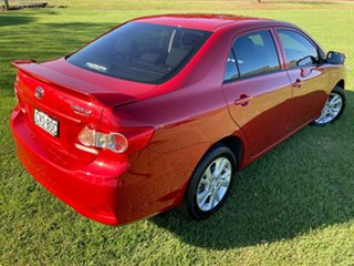 2011 Toyota Corolla ZRE152R MY11 Ascent Sport Wildfire 4 Speed Automatic Sedan