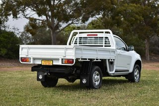 2016 Holden Colorado RG MY16 LS 4x2 White 6 Speed Manual Cab Chassis