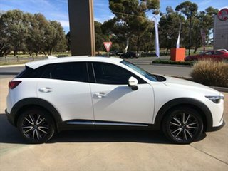 2018 Mazda CX-3 DK2W7A Akari SKYACTIV-Drive Snowflake White Pearl 6 Speed Sports Automatic Wagon.