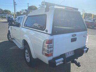 2009 Ford Ranger PJ XL Crew Cab White 5 Speed Automatic Double Cab Pick Up