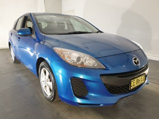 2013 Mazda 3 BL10F2 MY13 Neo Blue 6 Speed Manual Hatchback.