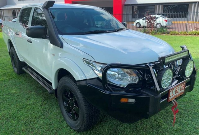 Used Mitsubishi Triton MQ MY16 GLX Double Cab, 2015 Mitsubishi Triton MQ MY16 GLX Double Cab White 6 Speed Manual Utility