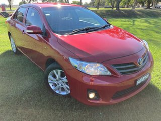 2011 Toyota Corolla ZRE152R MY11 Ascent Sport Wildfire 4 Speed Automatic Sedan.