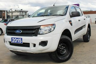 2015 Ford Ranger PX XL White 6 Speed Manual Utility