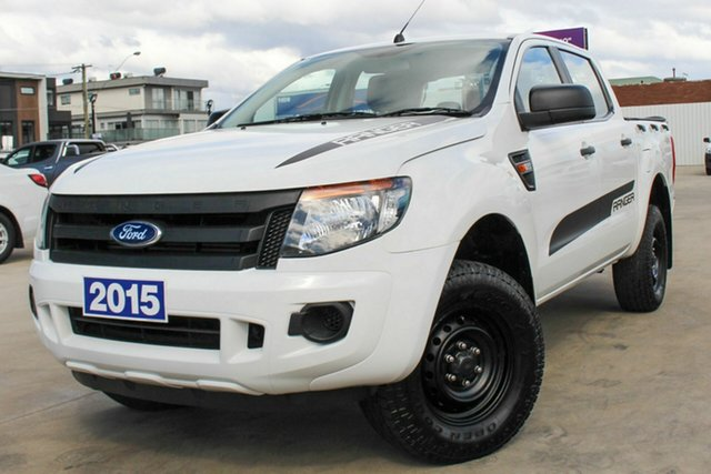 Used Ford Ranger PX XL Coburg North, 2015 Ford Ranger PX XL White 6 Speed Manual Utility