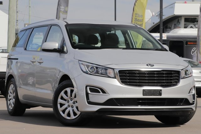 Used Kia Carnival YP MY18 S, 2018 Kia Carnival YP MY18 S Silver 6 Speed Sports Automatic Wagon