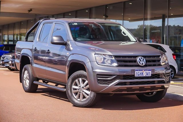Used Volkswagen Amarok 2H MY17 TDI420 4MOTION Perm Core, 2016 Volkswagen Amarok 2H MY17 TDI420 4MOTION Perm Core Grey 8 Speed Automatic Utility