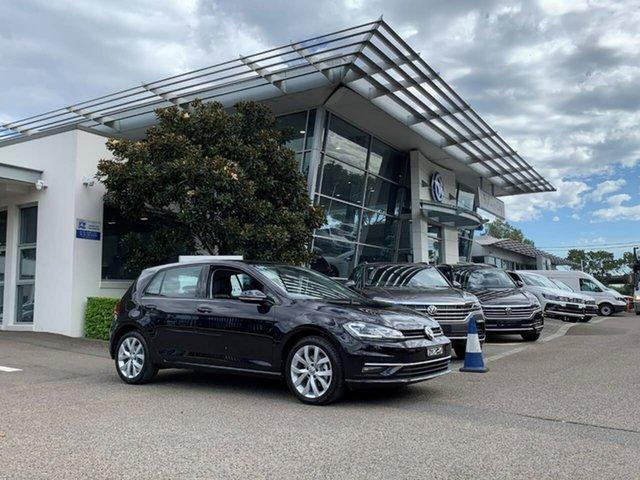 New Volkswagen Golf 7.5 MY20 110TSI DSG Highline, 2020 Volkswagen Golf 7.5 MY20 110TSI DSG Highline Black 7 Speed Sports Automatic Dual Clutch