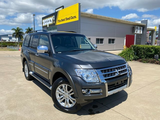 Used Mitsubishi Pajero NX MY18 Exceed Townsville, 2018 Mitsubishi Pajero NX MY18 Exceed Grey 5 Speed Sports Automatic Wagon
