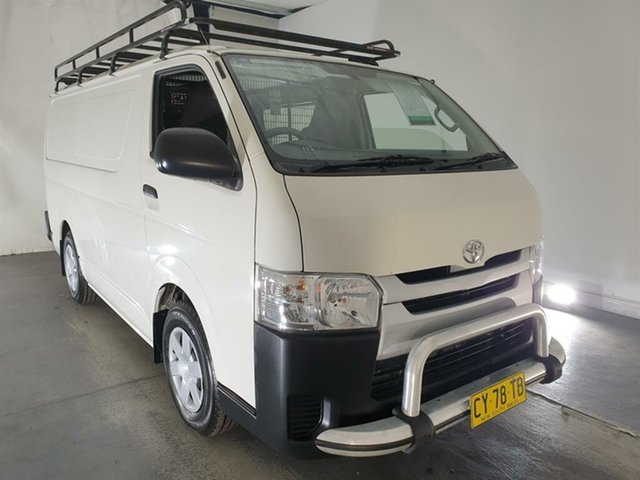 Used Toyota HiAce TRH201R LWB, 2017 Toyota HiAce TRH201R LWB White 5 Speed Manual Van