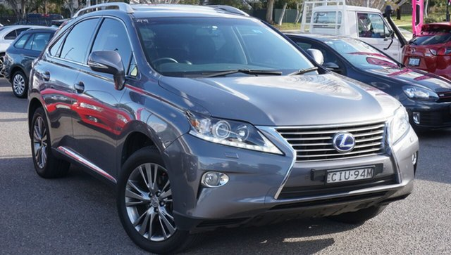 Used Lexus RX GYL15R MY12 RX450h Luxury Phillip, 2012 Lexus RX GYL15R MY12 RX450h Luxury Grey 6 Speed Constant Variable Wagon