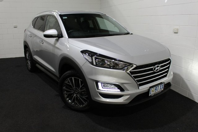 Used Hyundai Tucson TL3 MY20 Elite AWD Glenorchy, 2020 Hyundai Tucson TL3 MY20 Elite AWD Silver 8 Speed Sports Automatic Wagon