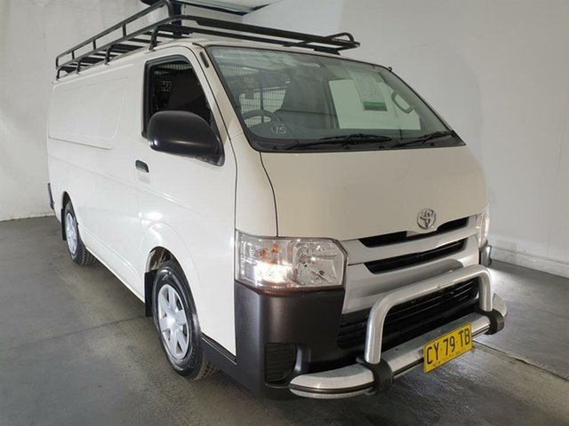 Used Toyota HiAce TRH201R LWB, 2017 Toyota HiAce TRH201R LWB White 5 Speed Manual Van