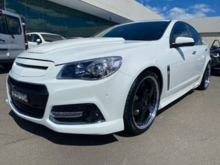 2014 Holden Commodore VF MY15 SS V White 6 Speed Sports Automatic Sedan.