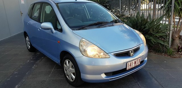 Used Honda Jazz  VTi, 2003 Honda Jazz VTi Blue 7 Speed CVT Auto Sequential Hatchback