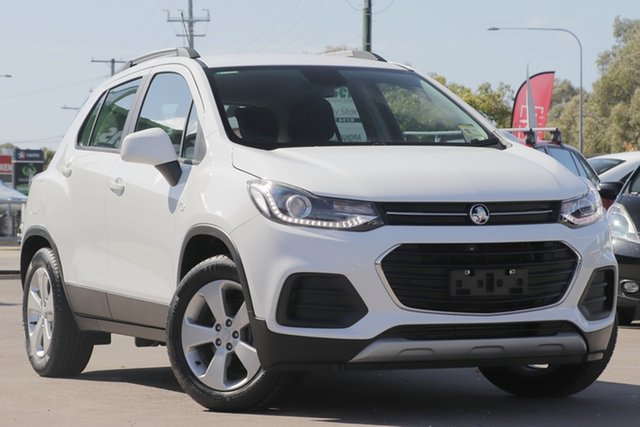Used Holden Trax TJ MY19 LS, 2019 Holden Trax TJ MY19 LS White 6 Speed Automatic Wagon
