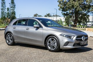 2019 Mercedes-Benz A-Class W177 800MY A180 DCT Mojave Silver 7 Speed Sports Automatic Dual Clutch.