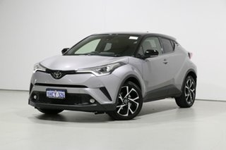 2017 Toyota C-HR NGX10R (2WD) Silver Continuous Variable Wagon.
