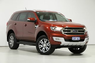 2018 Ford Everest UA MY18 Trend (RWD) Red 6 Speed Automatic SUV.