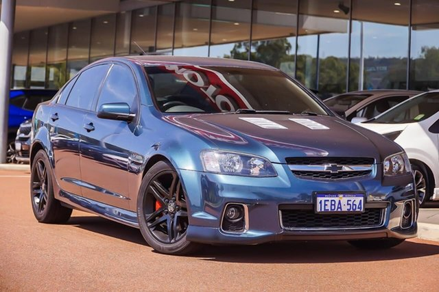 Used Holden Commodore VE II MY12 SS, 2012 Holden Commodore VE II MY12 SS Blue 6 Speed Sports Automatic Sedan