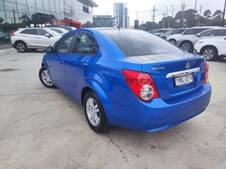 2012 Holden Barina TM Blue 6 Speed Automatic Sedan.