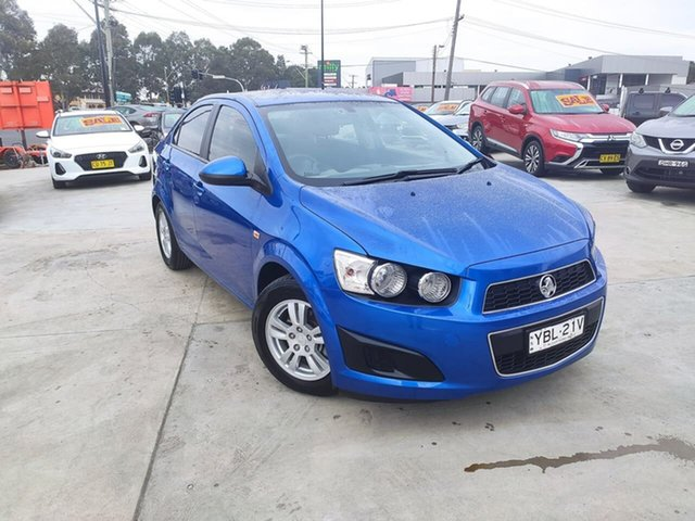 Used Holden Barina TM , 2012 Holden Barina TM Blue 6 Speed Automatic Sedan