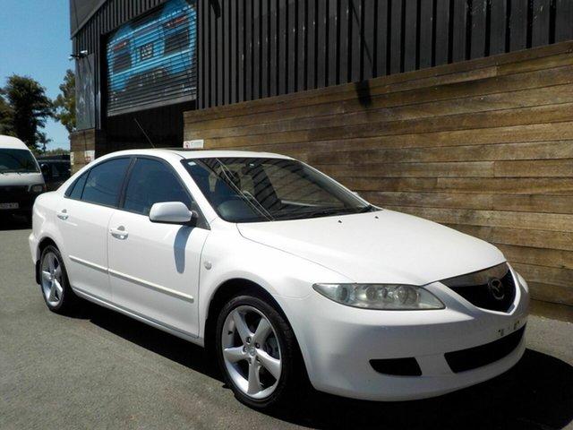 Used Mazda 6 GG1031 Luxury, 2002 Mazda 6 GG1031 Luxury White 4 Speed Sports Automatic Hatchback