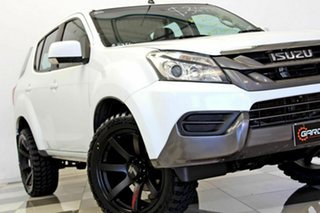 2015 Isuzu MU-X UC MY15 LS-M (4x4) White 5 Speed Automatic Wagon.