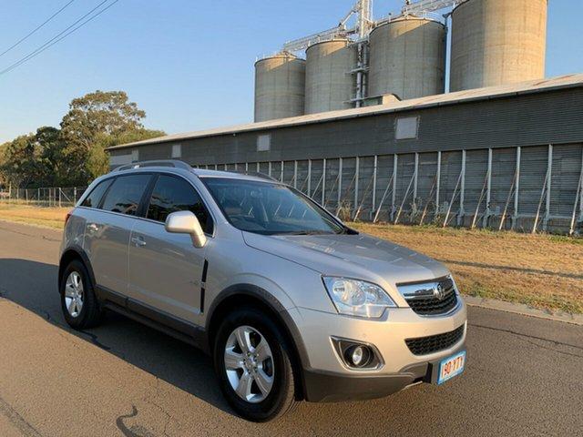 Used Holden Captiva CG Series II 5 (4x4), 2011 Holden Captiva CG Series II 5 (4x4) Silver 6 Speed Automatic Wagon