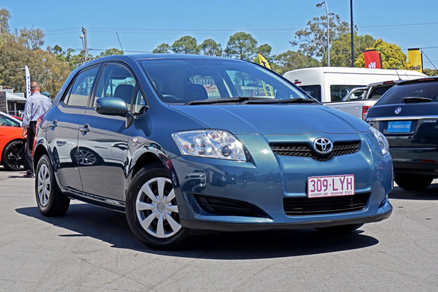 Used Toyota Corolla ZRE152R Ascent, 2009 Toyota Corolla ZRE152R Ascent Dark Blue 4 Speed Automatic Hatchback