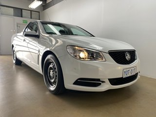 2017 Holden Ute VF II White 6 Speed Automatic Utility.