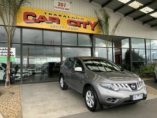 2010 Nissan Murano Z51 ST Silver Continuous Variable Wagon.