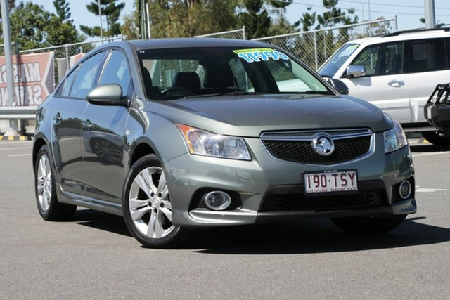 Used Holden Cruze JH Series II MY14 SRi, 2013 Holden Cruze JH Series II MY14 SRi Grey 6 Speed Sports Automatic Sedan