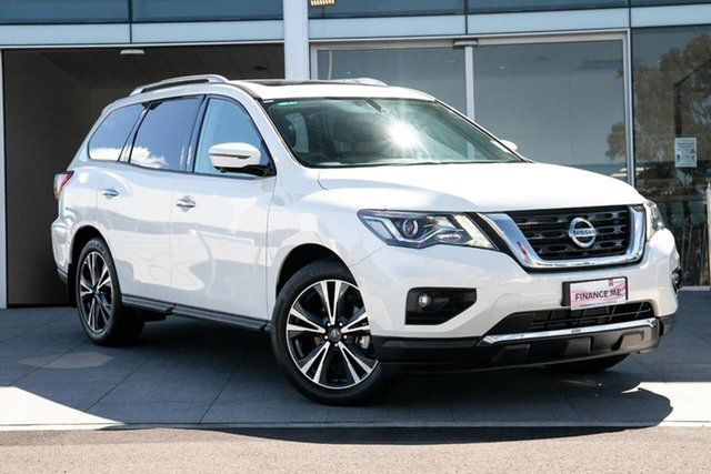 New Nissan Pathfinder R52 Series III MY19 Ti X-tronic 4WD, 2019 Nissan Pathfinder R52 Series III MY19 Ti X-tronic 4WD Ivory Pearl 1 Speed Constant Variable