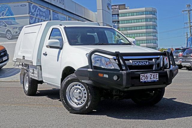 Used Isuzu D-MAX MY15 SX, 2015 Isuzu D-MAX MY15 SX White 5 Speed Manual Cab Chassis
