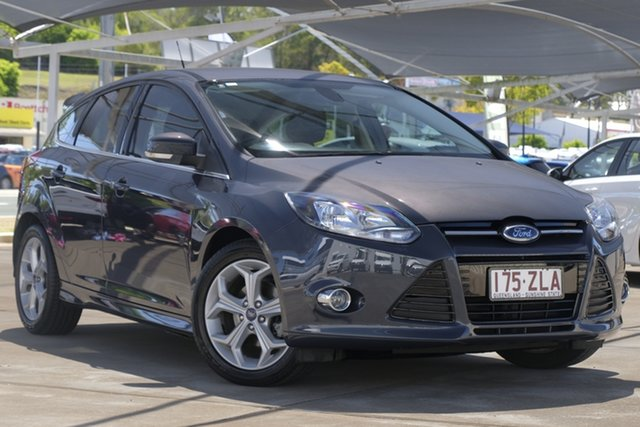 Used Ford Focus LW MkII Sport PwrShift, 2013 Ford Focus LW MkII Sport PwrShift Grey 6 Speed Automatic Hatchback