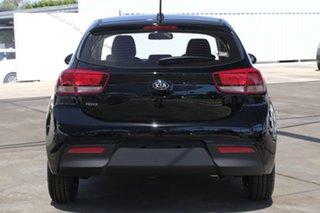 2020 Kia Rio YB MY20 S Aurora Black Pearl 4 Speed Sports Automatic Hatchback