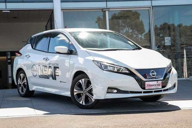 New Nissan Leaf ZE1 , 2019 Nissan Leaf ZE1 Arctic White 1 Speed Reduction Gear Hatchback