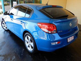 2012 Holden Cruze JH MY12 Equipe Blue 6 Speed Automatic Hatchback.