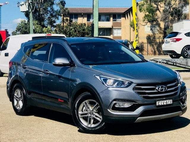 Used Hyundai Santa Fe DM4 MY18 Active, 2017 Hyundai Santa Fe DM4 MY18 Active Grey 6 Speed Sports Automatic Wagon