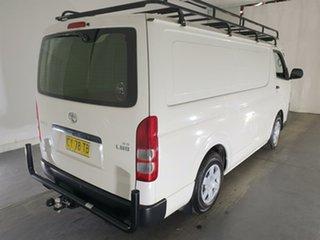 2017 Toyota HiAce TRH201R LWB White 5 Speed Manual Van