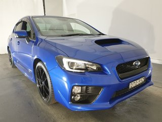 2017 Subaru WRX V1 MY17 do Edition AWD Blue 6 Speed Manual Sedan.