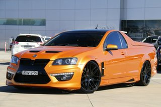 2011 Holden Special Vehicles Maloo E Series 3 R8 White 6 Speed Sports Automatic Utility.