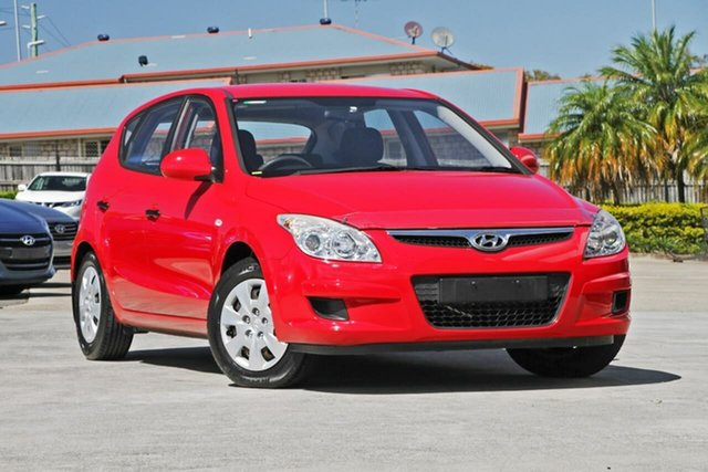 Used Hyundai i30 FD MY09 SX, 2009 Hyundai i30 FD MY09 SX Shine Red 4 Speed Automatic Hatchback